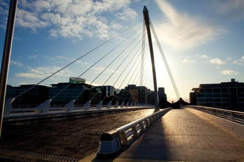 Мост Сэмюэля Бекетта, Дублин