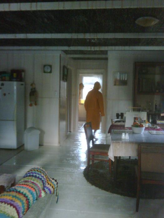 Rainy house